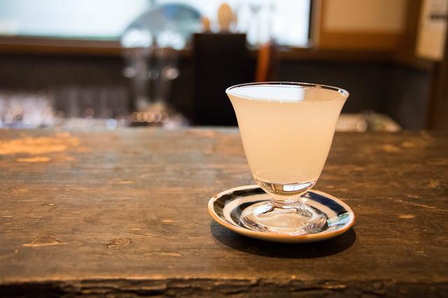蒼空 特別純米 生原酒 おりがらみ 短稈渡船@酒蔵Bar「えん」