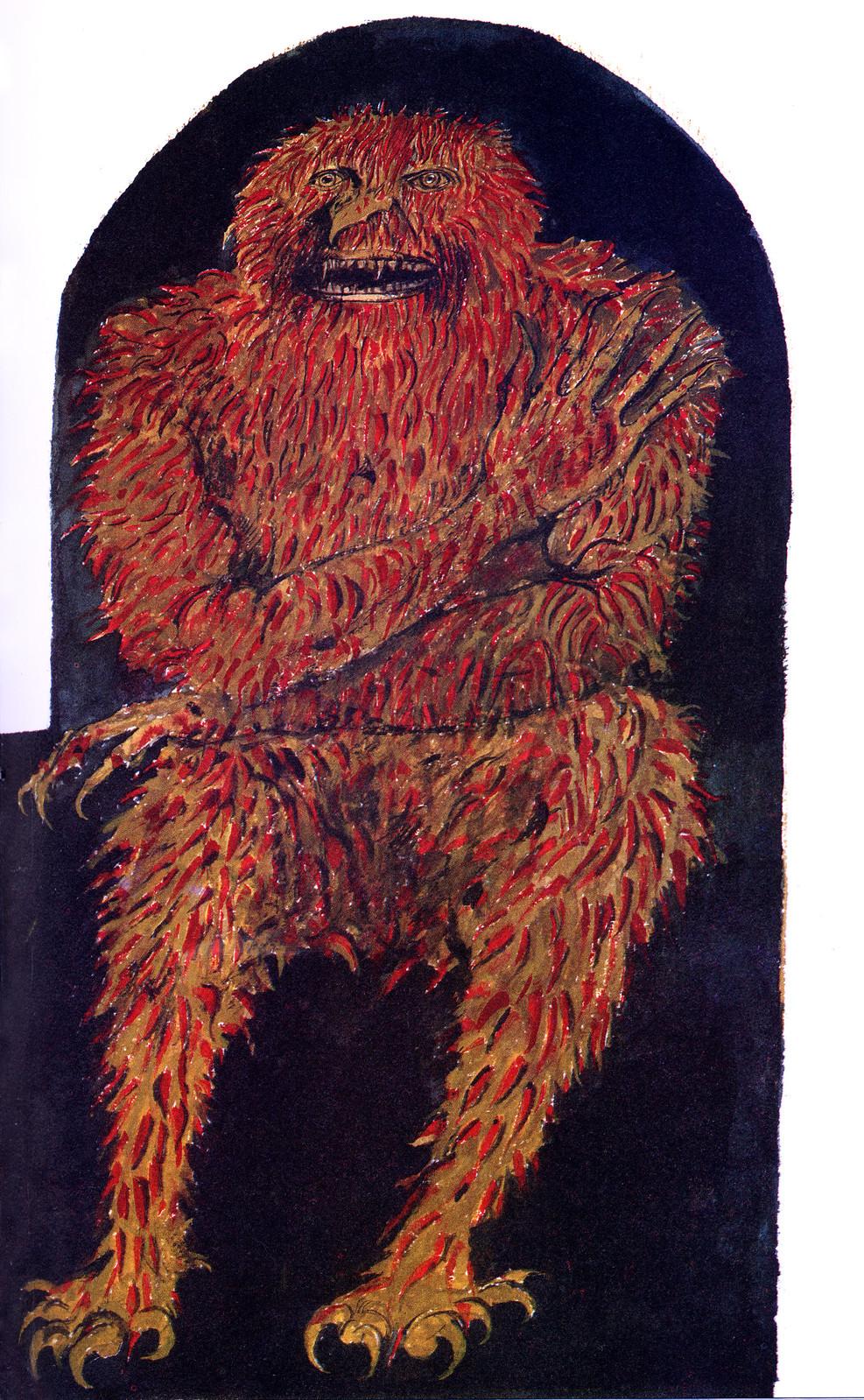 Leonard Baskin - Bloody Bones