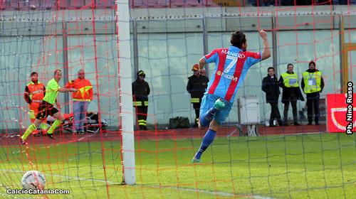 Latina-Catania 1-2, il tabellino$