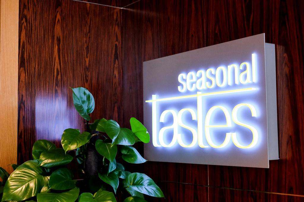 Seasonal Tastes Sign