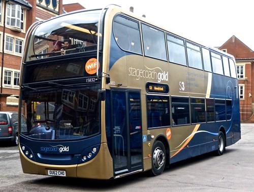 OU62 CHO 'Stagecoach Oxfordshire' 15832 Scania N230UD / ADLtd. Enviro 400. on Dennis Basford's 'railsroadsrunways.blogspot.co.uk