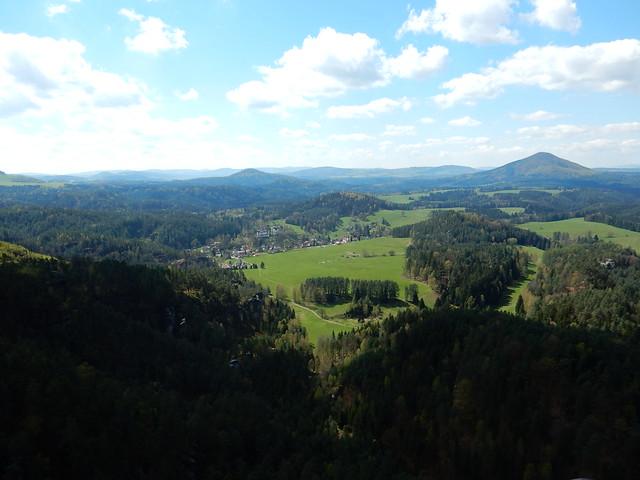 Výhled z Vilemíniny stěny
