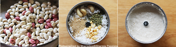 How to make Butter Beans Kurma Recipe - Step1