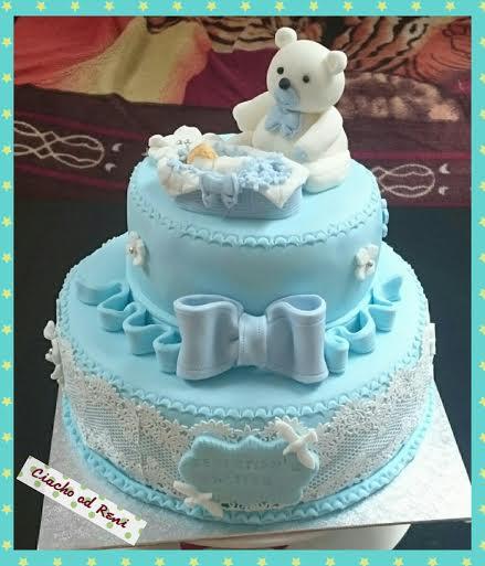 Christening Cake by Renata Adamska