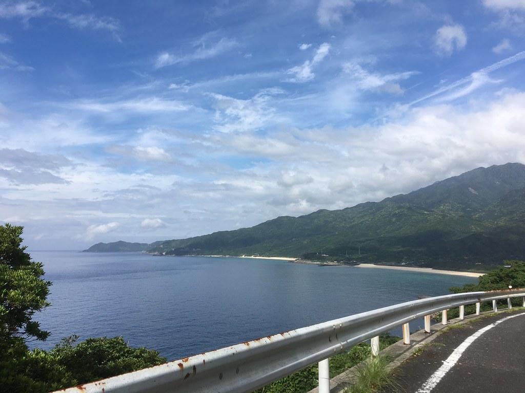 ちょっと晴れてた海岸線