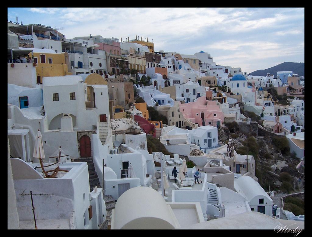 Crucero por el Mediterráneo - Casas de Oia