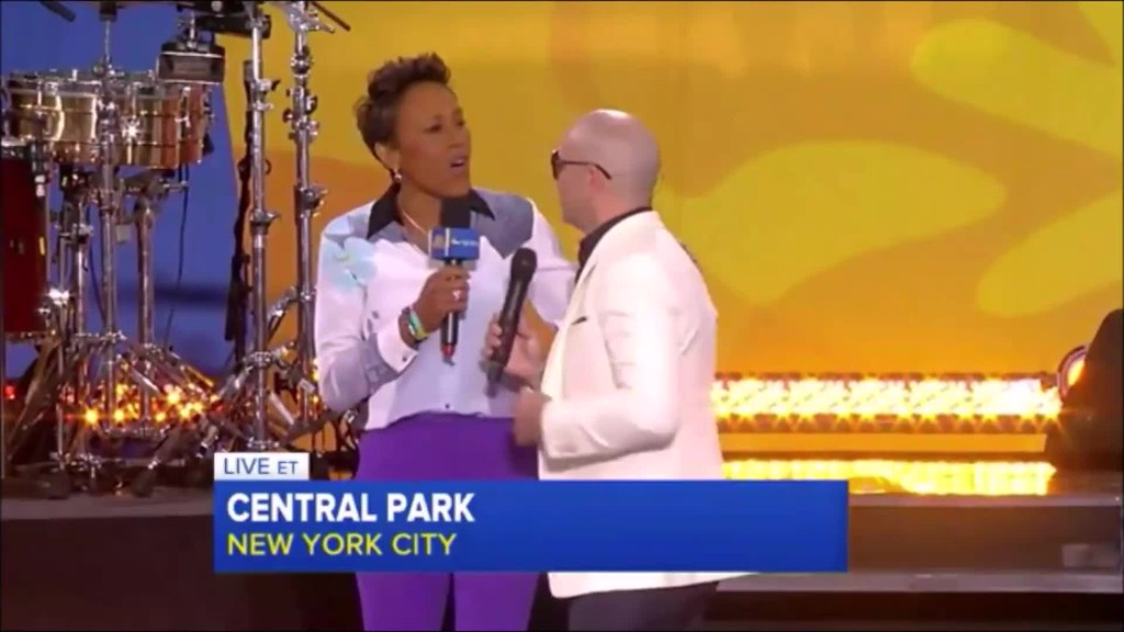 Pitbull on GMA (PART 2)