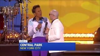 Pitbull on GMA (PART 2)