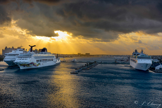 Docking at Nassau