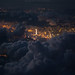 Hong Kong thru clouds .... Thanks, Captain by CoolbieRe
