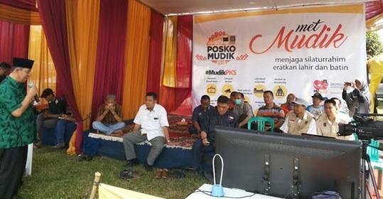 Wakil Wali Kota Hadiri Peluncuran Posko Mudik PKS Lampung (PKS Lampung, 4 Juli)