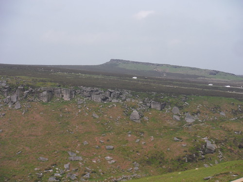 Cowper Stone, from Burbage Rocks