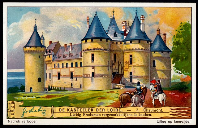 Liebig Tradecard S1272 - Château de Chaumont