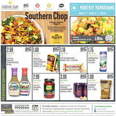 Monthly Markdowns: May 7 - Jun 6, 2013