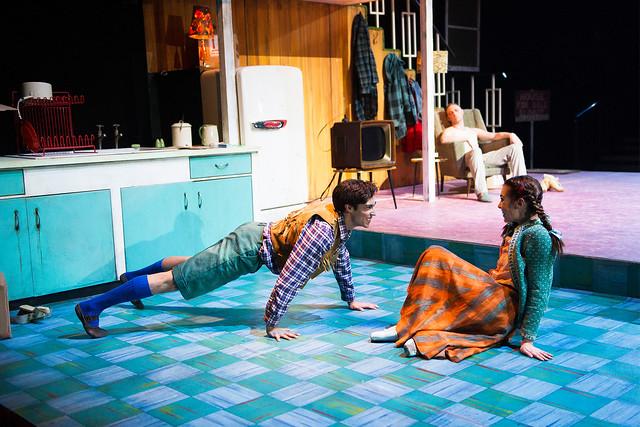 James Hay as Hansel and Leanne Cope as Gretel in Hansel and Gretel © ROH / Tristram Kenton 2013