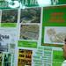 Panel explicativo sobre el Jardín de la Memoria