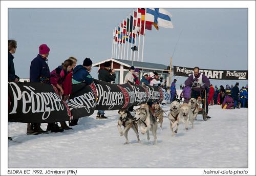 ESDRA European Sled Dog Championship 1992, Jämijarvi (FIN)