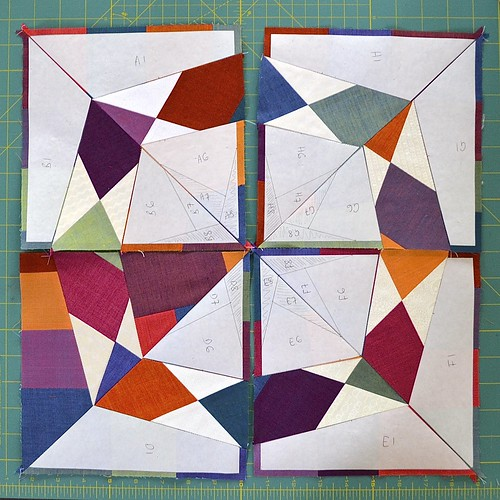 Circle of butterflies quilt