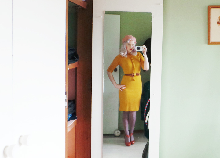 vintage-mustard-dress-pale-pink c