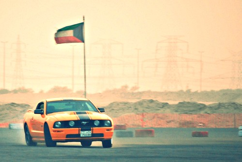 Drift Track Action - Kuwait