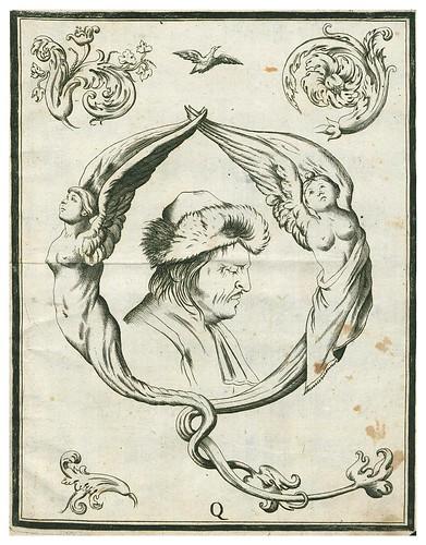 017-Letra Q-Alfabeto in sogno-1720-Staatsbibliothek zu Berlin