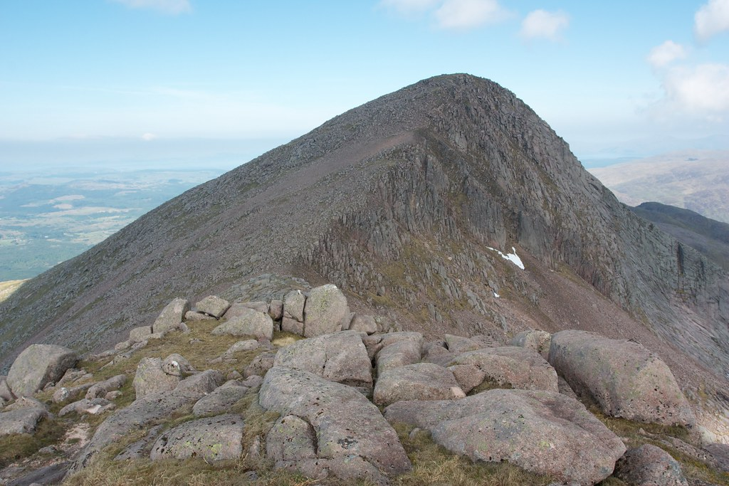 East ridge of Taynuilt Peak