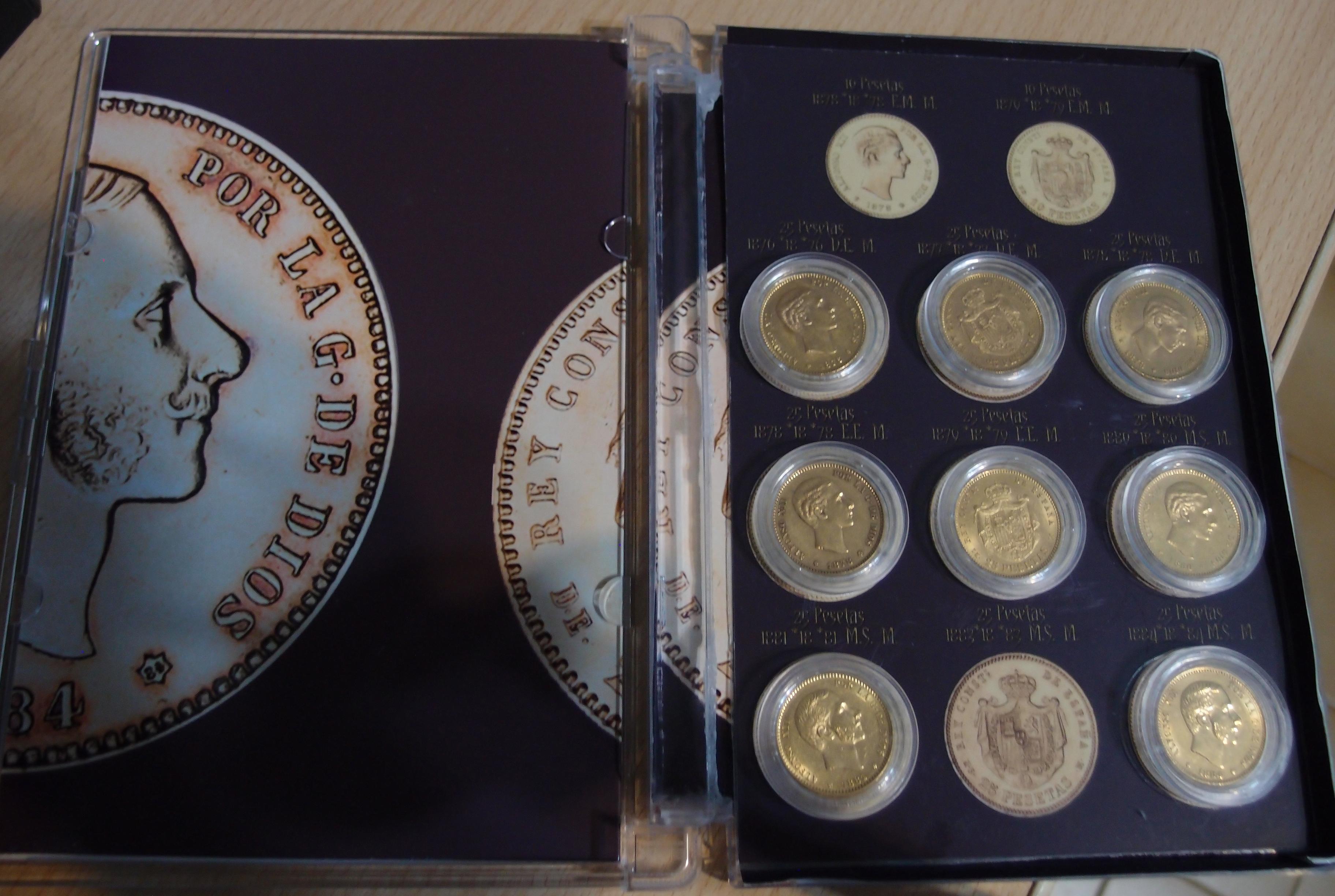Coleccion Alfonso XII y Monetario 9055586117_0910ae4316_o