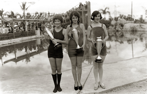 Beauty contest winners at the Venetian Pool in Coral Gables, Florida from Flickr via Wylio