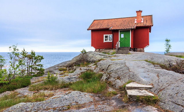 Inspirational location – studio of artist Albert Engström, Grisslehamn, north Stockholm archipelago