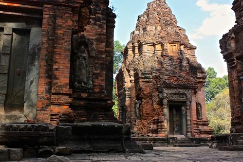 exposed temples at Preah Ko