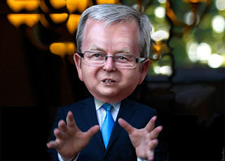 Kevin Rudd - Caricature