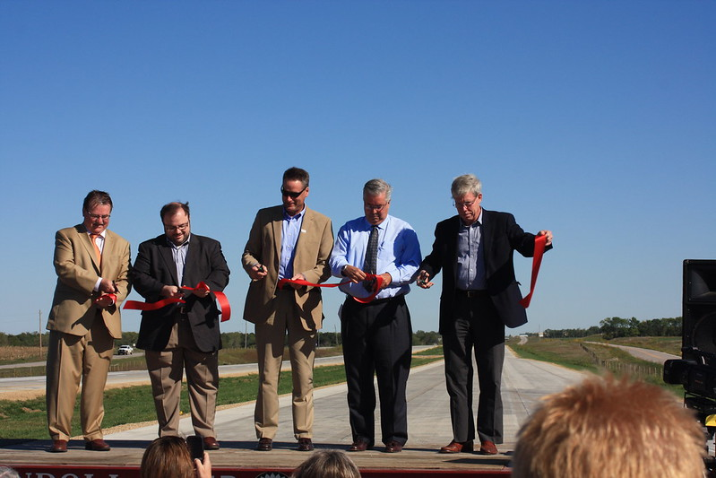 US 59 Ribbon Cutting