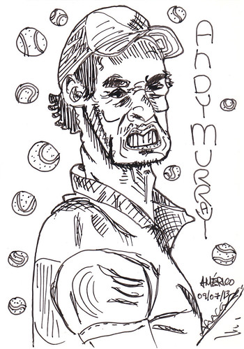 Andy Murray by americoneves