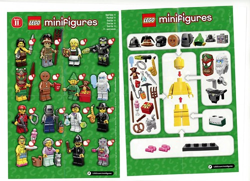 LEGO Collectible Minifigures Series 11 (71002)