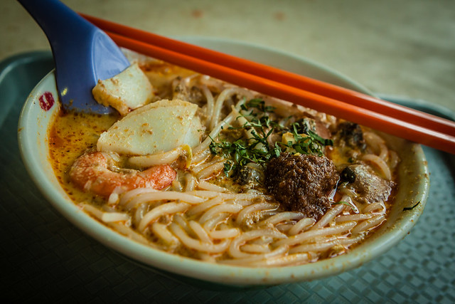 A bowl of laksa - Flickr CC jirka_matousek