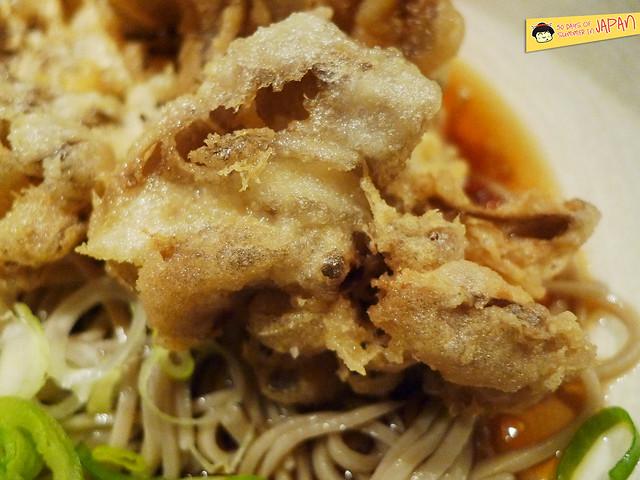 TOFURO - Edo Washoku - maitake mushroom tempura