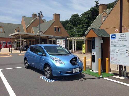 道の駅 みやま公園 EV急速充電器