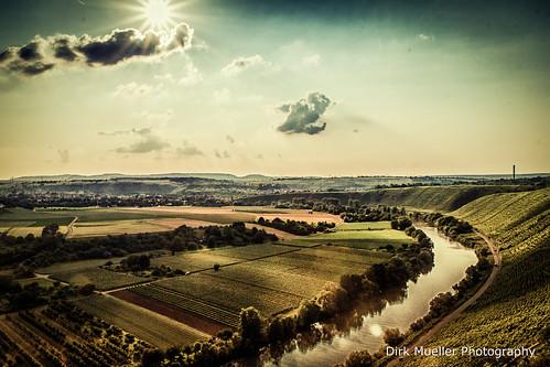 Über dem Neckar by Dirk Mueller Photography