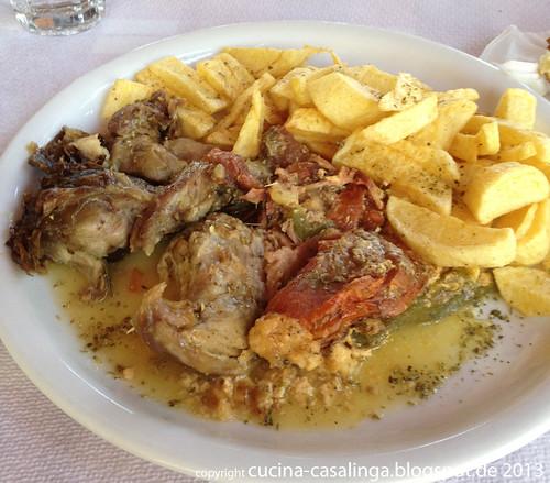 Pirgos Restaurant Lamm-Eintopf
