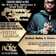 8/1 - Thurs - Neil Armstrong for the FINAL Groove Candy @ The Roxy in Phoenix AZ