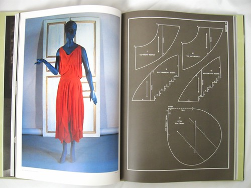 Dress from Vionnet book
