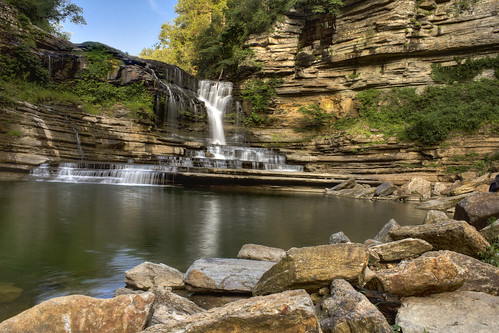 Cummins Falls, Cummins Falls State Park, Jackson County, Tennessee 2