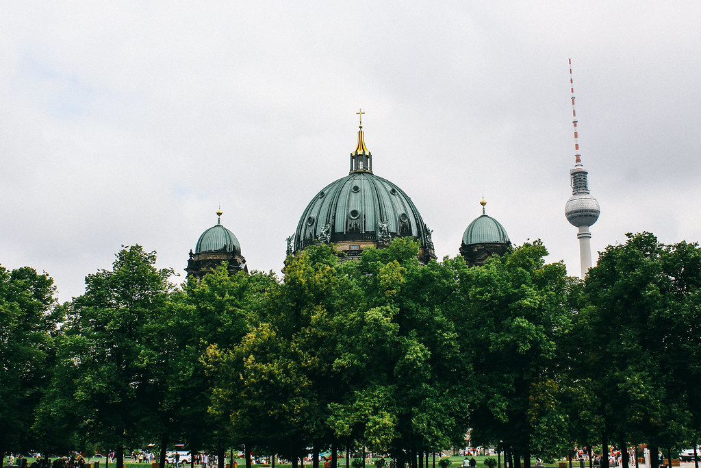 Berliner Dom + TV tower