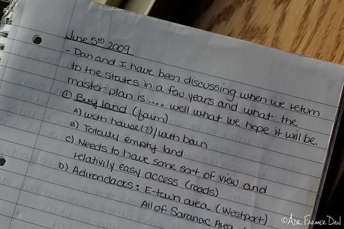 June 2009 Notebook