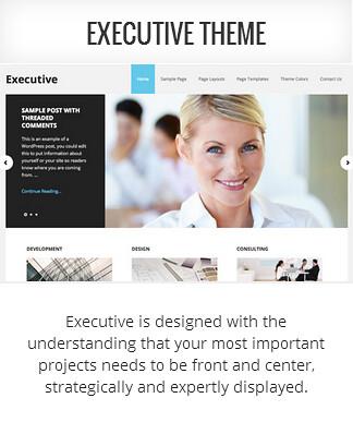 Genesis child theme Executive
