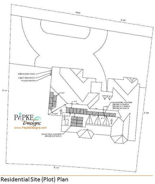 Residential site plot plan flickr photo sharing for Residential site plan