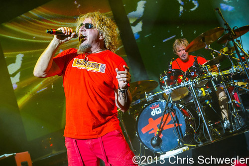 Sammy Hagar – 08-26-13 – Four Decades of Rock Tour, DTE Energy Music Theatre, Clarkston, MI