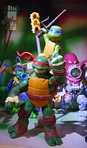 Nickelodeon  TEENAGE MUTANT NINJA TURTLES :: NINJAS in TRAINING, LEONARDO & DONATELLO xxi // .. with BIG BROTHER Raph  (( 2013 ))