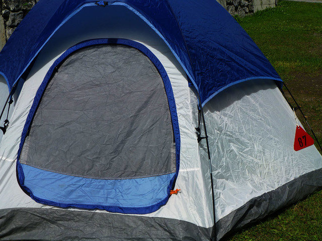 tent in Camping Jungfrau Holiday Park