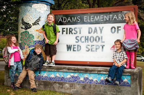 Agape Kids First Day of Kindergarten